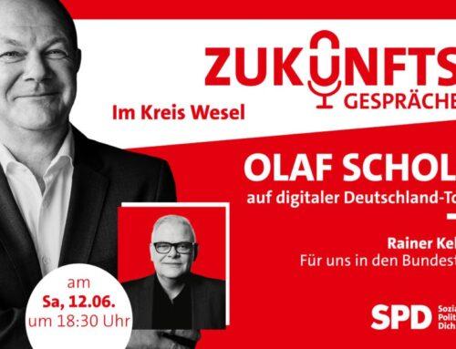 8. Juni 2021 Olaf Scholz auf digitaler Deutschlandtour!