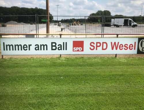 Immer am Ball mit der SPD